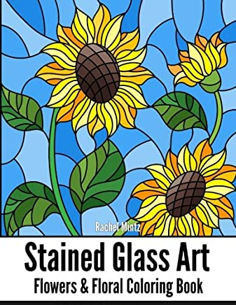Flower Stained Glass Art Design