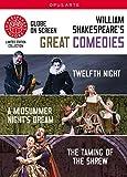 Shakespeare: Great Comedies [3 DVDs] [Reino Unido]