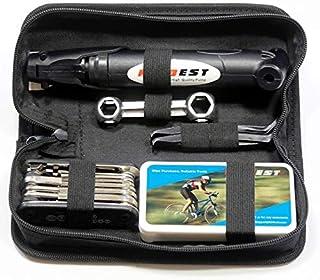 Kitbest Bike Repair Tool Kit – 100 PSI Mini Bike Pump,...