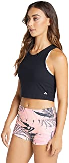 Rockwear Activewear Women's Topia Lattice Back Crop from Size 4-18 for Singlets Tops