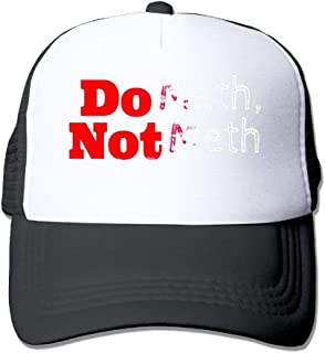 c422793e Do Math Not Meth Adjustable Sports Mesh Baseball Caps Trucker Cap Sun Hats