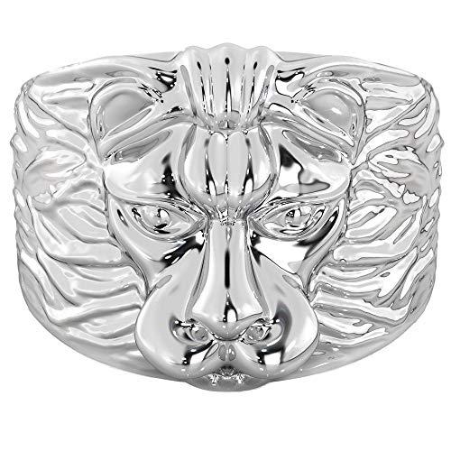 BestToHave- Lion Head Men's 925 Sterling Silver Ring
