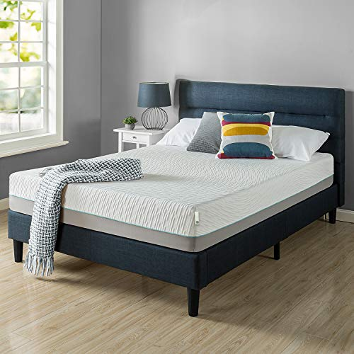 ZINUS 10 Inch Green Tea Pressure Relief Memory Foam Mattress/Zoned Airflow Design/CertiPUR-US Certified/Bed-in-a-Box, Twin