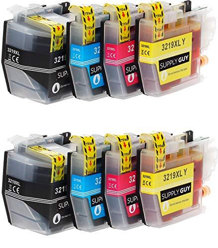SupplyGuy 8 XL Druckerpatronen kompatibel mit Brother LC3219xl passend für MFC-J5330dw MFC-J5335dw MFC-J5335dwf MFC-J5730dw MFC-J5930dw MFC-J6530dw MFC-J6535dw MFC-J6930dw MFC-J6935dw MFC-J6935dwf