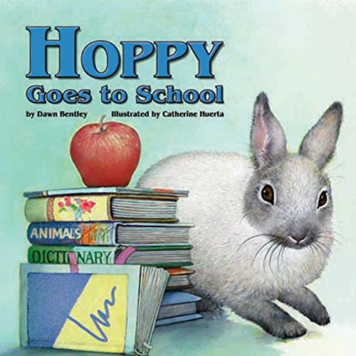 Hoppy Goes to School audiobook cover art