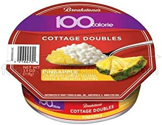 Breakstone Pineapple Cottage Double Cheese, 3.9 Ounce -- 12 per case.
