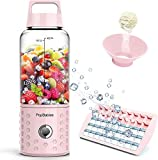 PopBabies Portable Blender, Mini Smoothie Maker with with USB Rechargeable, Larger Stronger
