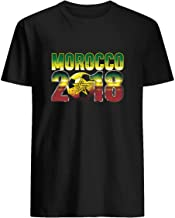 Morocco Football Team Soccer 2018 Russia T-Shirt Cup Of The World Championship National 53 T shirt Hoodie for Men Women Unisex