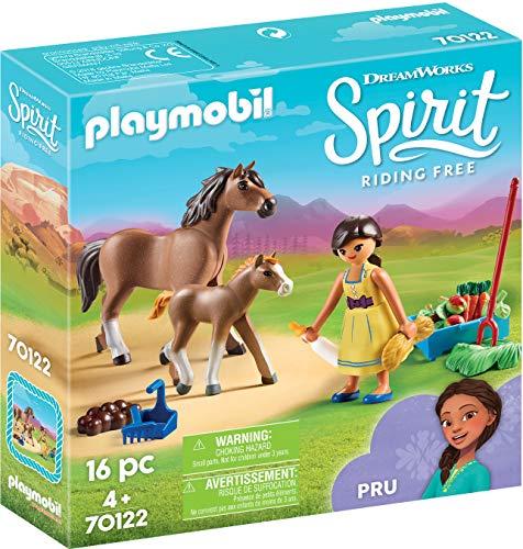 Playmobil 70122 Spirit - Riding Free PRU mit Pferd und Fohlen, bunt
