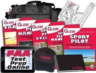 GLEIM DELUXE SPORT PILOT KIT WITH ONLINE GROUND SCHOOL