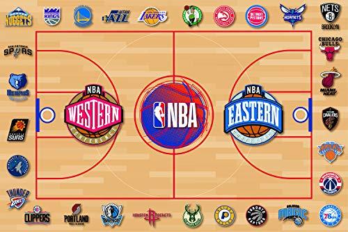 NBA - Sottomano da ufficio, collezione ufficiale