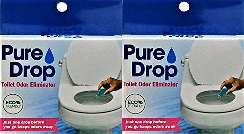 Pure Drop Toilet Odor Eliminator, 0.67 Fl Oz (Pack of 2)