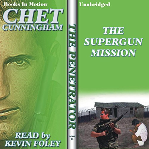 The Supergun Mission audiobook cover art