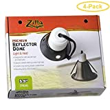 Zilla Premium Reflector Dome - Light & Heat 5.5' - Pack of 4