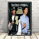 QIUFANGGUO Wiz Khalifa Poster druckt Rapper Sänger Hip Hop