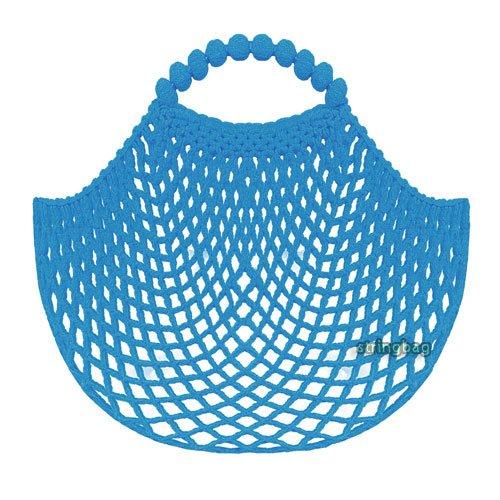 Einkaufsnetz kult hellblau - SuperNetz - DeDeRon - Made in Germany