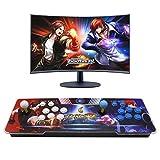 【4260 Games in 1】 3D Pandoras Box 9S Retro Video Arcade Games Console, HD Video Game Console with Arcade Joystick Support HDMI VGA USB Multi-Color LED Backlight Output