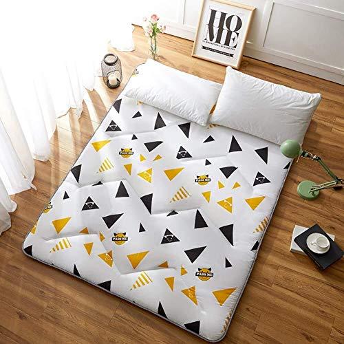 ZH Piso Tatami, durmiendo colchón Topper cojín Plegable Grueso, Almohada colchón futón,...