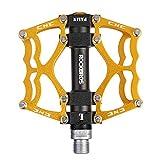 ROCKBROS Pedali Bici MTB in Alluminio Cuscinetto Pedali Taglia CNC Asse 9/16 pollici per Bicicletta...