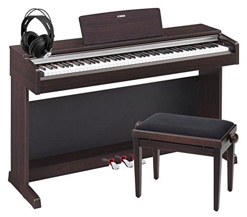 Yamaha Ydp-142 R Arius Digitalpiano Rosenholz Set Inkl. Bank + Kopfhörer