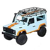 Yangyang Coche Teledirigido,RC Coche Teledirigido Off-Road 2WD Alta Velocidad Buggy de Carreras Recargables Radio Control 2.4GHZ Juguete para Niños Adulto,A