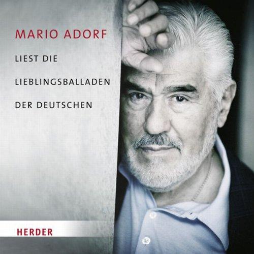 Mario Adorf liest die Lieblingsballaden der Deutschen Titelbild