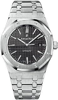 Audemars Piguet ロイヤルオークブラックダイヤル ステンレス鋼メンズ腕時計 15400STOO1220ST01