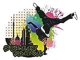 GRAZDesign Wandsticker Coole Aufkleber für Jugendliche,