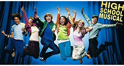 Factory Card and Party Outlet High School Musical Backdrop Banner