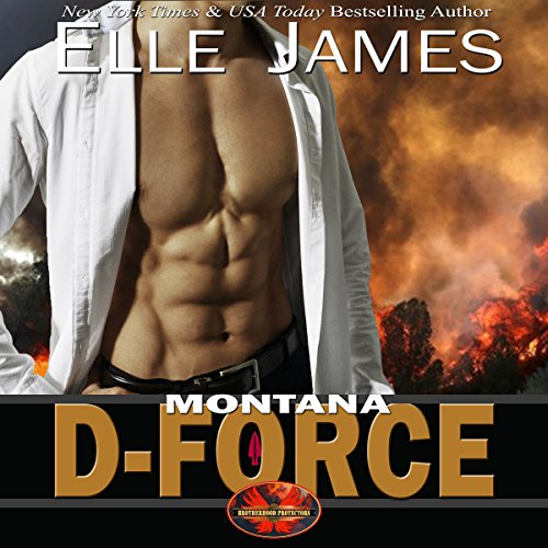 Montana D-Force audiobook cover art