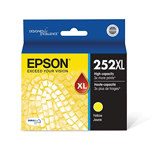Epson T252XL420 - Ink Cartridge - Yellow - DURABrite Ultra High Capacity - Prime Eligible