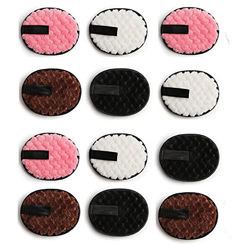 Make-up Remover Towel Reusable Makeup Remover Pads Reusable Microfiber Makeup Remover Pads, Bamboo Cotton Pads for All Skin Type