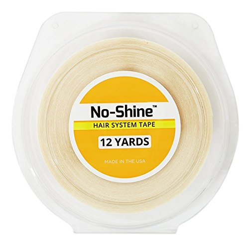 No Shine Bonding Double-Sided Tape Walker 1/2 X 12 Yards by Walker Tape, one Color, no Shine Tape