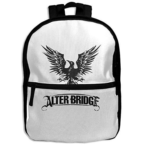NJIASGFUI Alter Bridge mochila para niños con logo de Blackbird, para la escuela, senderismo, viajes, mochila para estudiantes, para niños y niñas