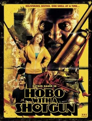 HOBO with A Shotgun - Rutger HAUER – Movie Wall Poster Print – A4 Size Plakat Größe