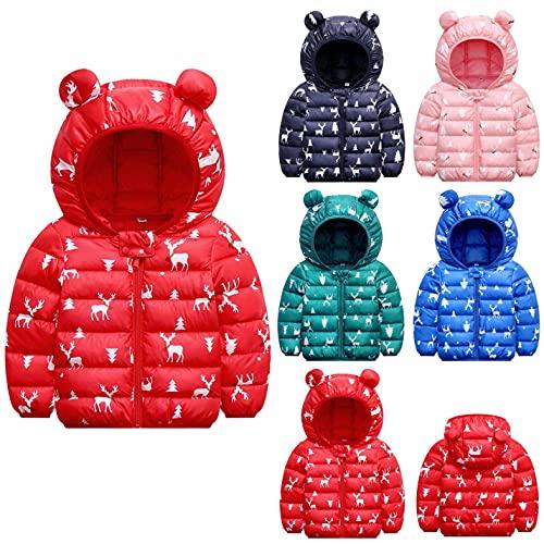 YQSR – Chaqueta para bebé niña, abrigo de forro polar para bebé niño, niño, otoño, invierno, oso y oreja, abrigo grueso de felpa, abrigo, ropa de 12 meses a 7 años