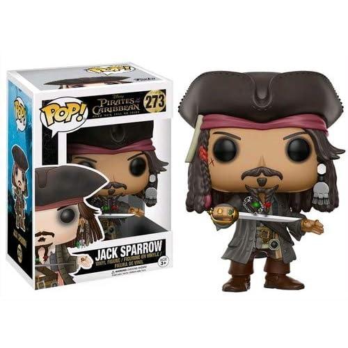 Funko Figurina Jack Sparrow di Pirates of The Caribbean 5, 12803
