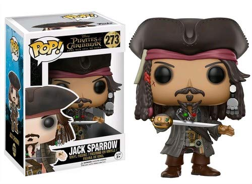 Funko Pop!- Jack Sparrow Figura de Vinilo, coleccion de Pop, seria Pirates 5 (12803)
