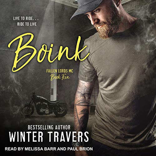 Boink Audiobook By Winter Travers cover art
