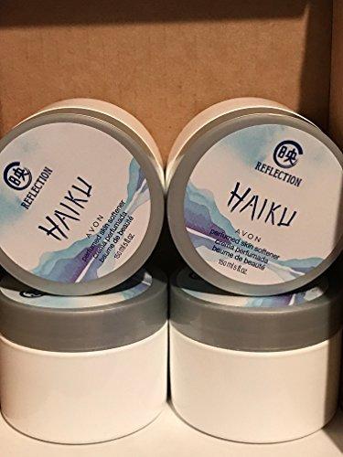 Avon REFLECTION Haiku Perfumed Skin Softener 5 fl. oz. Lot 4 jars