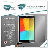 Slabo 2 x Bildschirmschutzfolie LG G Pad 8.0 Bildschirmschutz Schutzfolie Folie No Reflexion|Keine Reflektion MATT-Entspiegelnd MADE IN GERMANY