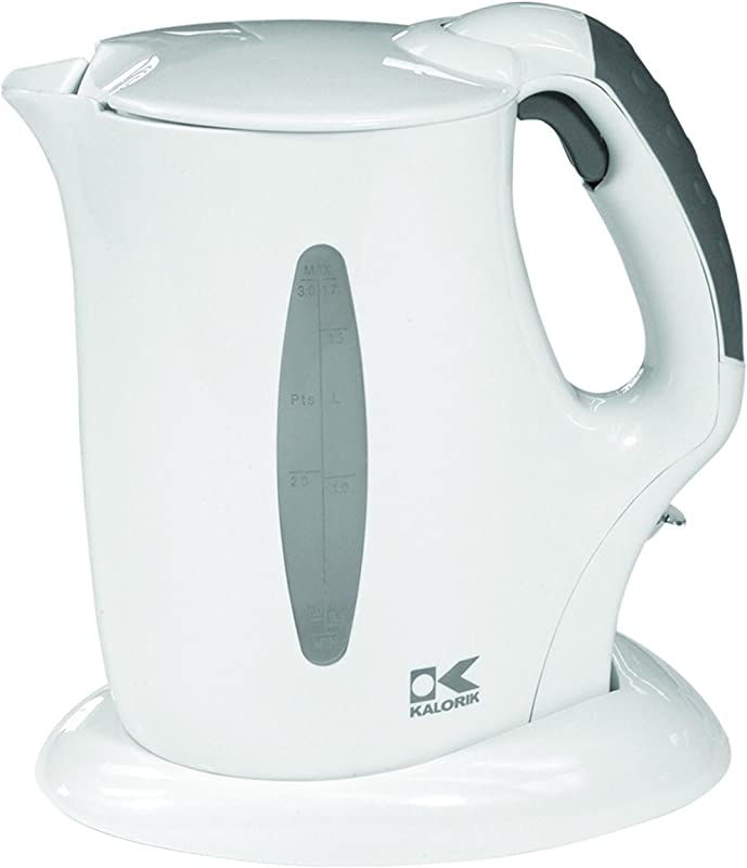 Kalorik Cordless Jug Kettle White 57 Oz