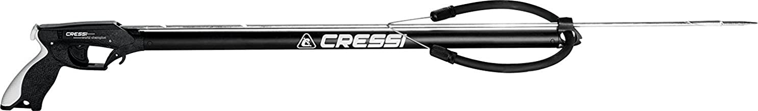 Cressi Apache Aluminum Speargun with Stainless Steel Shaft & Sling