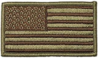 US Air Force OCP and Spice Brown Flag with Hook Fastener