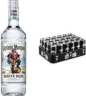 Captain Morgan White Rum 1 x 0.7 l mit afri cola, EINWEG 24 x 330 ml