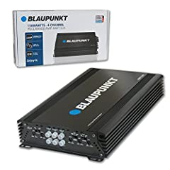 1500W Maximum Power Full-Range Amplifier Optimized 150-watt RMS output and a max power output of 1500 watts, you can give your music a huge boost in power that will have you and your passengers partying while on the road This slim amplifier fits perf...