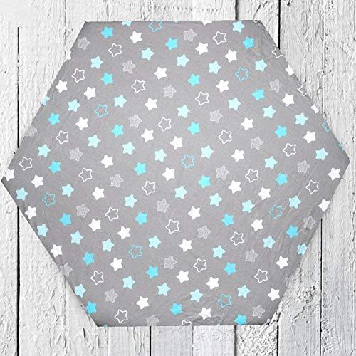 Colchón para parque infantil + sábana bajera, color blanco, 6 esquinas, 10 cm