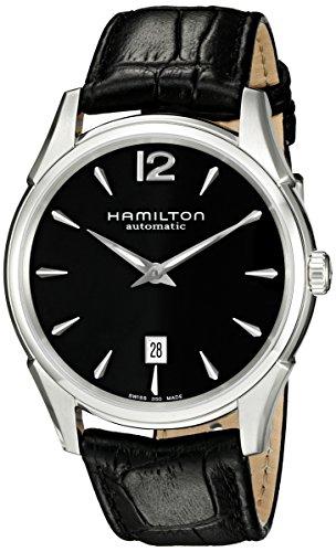 Hamilton H38615735 - Orologio da Polso, Analogico al Quarzo, Cinturino in Pelle