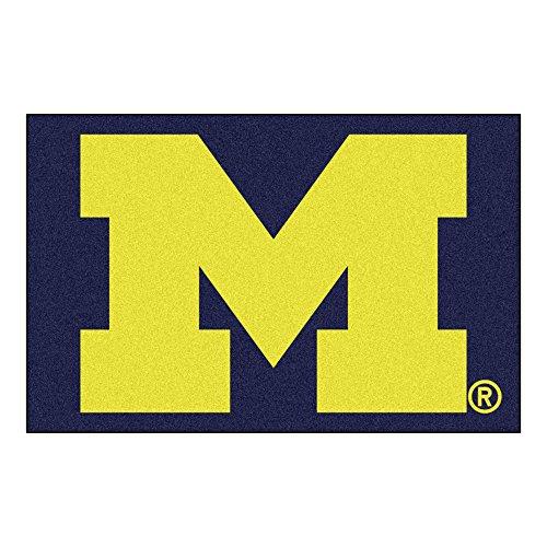 Fanmats 3409 Universit- du Michigan Starter Rug