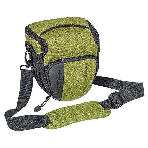 PEDEA Kameratasche (Größe M, grün)